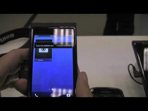 Bluetooth File Transferring on BlackBerry 10