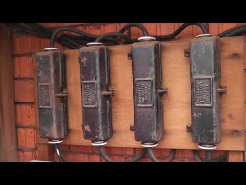 Interesting electricity meters in Sydney AU