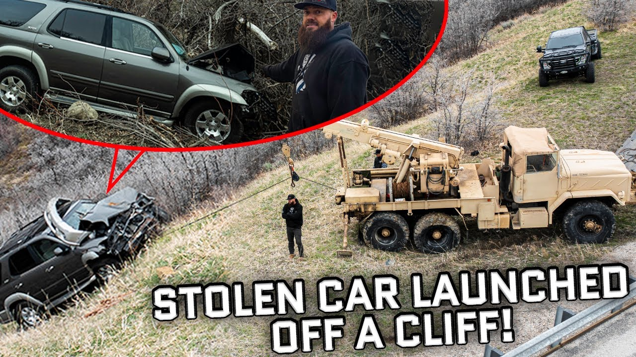 Police and Insurance Couldn't Find This Stolen SUV...So They Called Us (Cliffside Recovery)