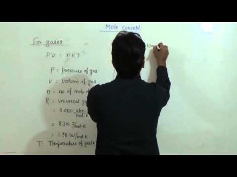 6  Mole Concept   Molar Volume & Gas Analysis