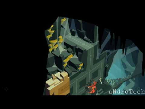 Lara Croft GO - 2. Down a spider's web (THE MAZE OF STONES)