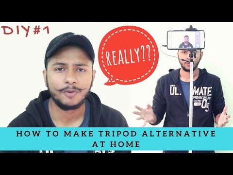 DIY #1 - How to Make TRIPOD at Home | TechnoSeekers