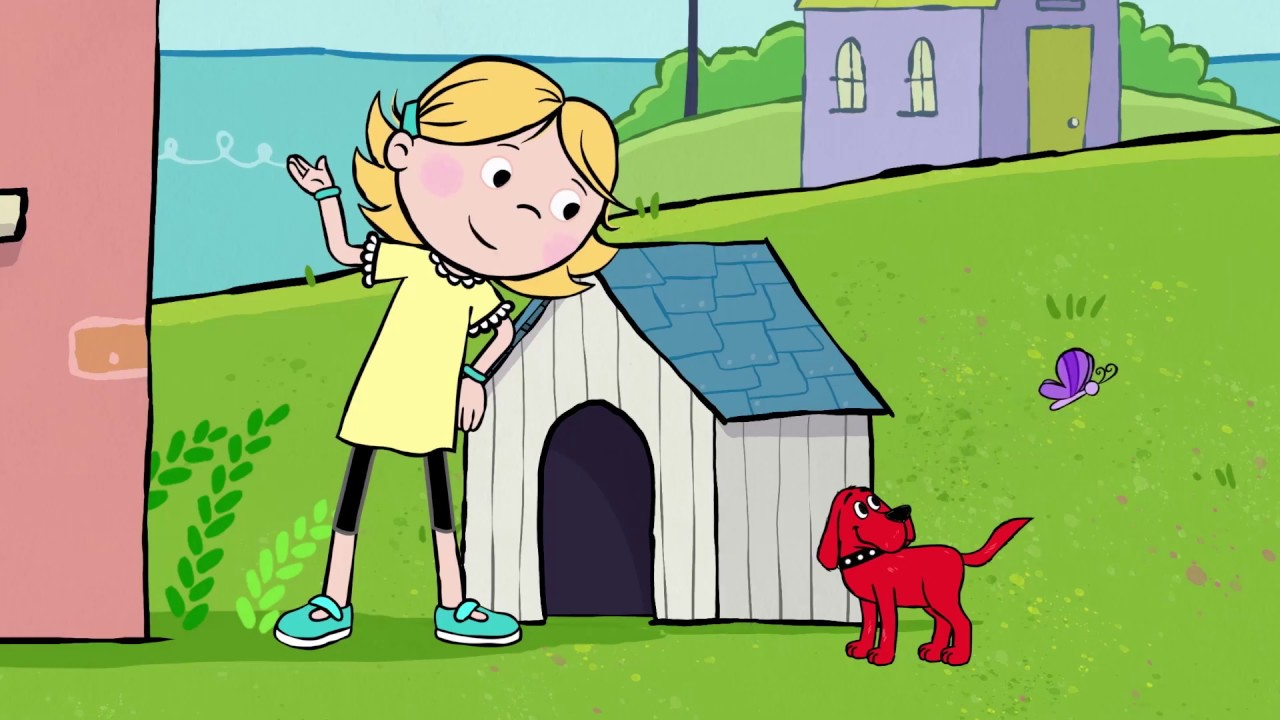 Clifford The Big Red Dog | Clifford Dreams That He Is Small!
