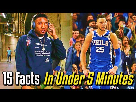 15 NBA Awards Facts In Under 5 Minutes