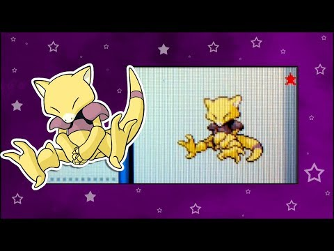 SHINY ABRA in Pokemon SoulSilver after a total of 5,645 seen!