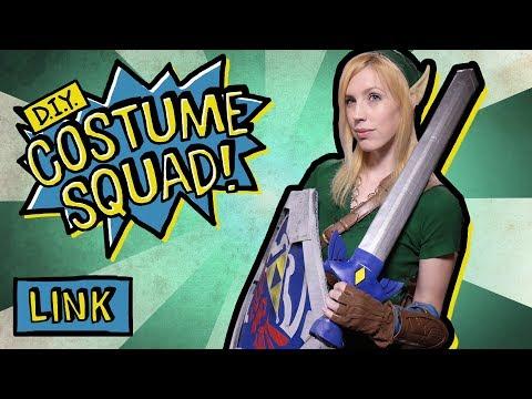 Make Your Own Genderbent Link - DIY Costume Squad