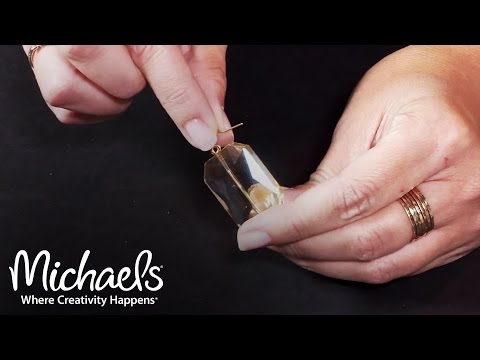 How to Make Your Own Earrings | Crafting Quick Tips | Michaels