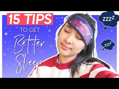 22 Tips To Fall Asleep FAST! Pressure Points, Sleeping Positions & More!