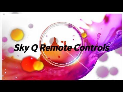 Sky Q Remote Controls