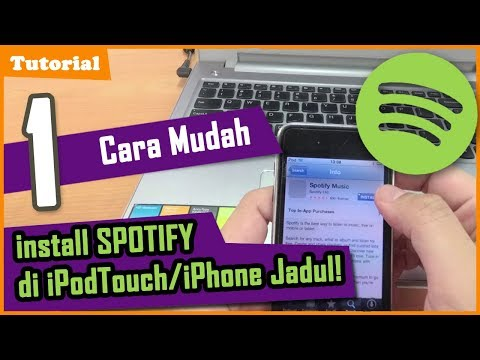 TechnoWit:1 Cara Mudah Install Spotify di iPod Touch/iPhone Jadul/Lawas.