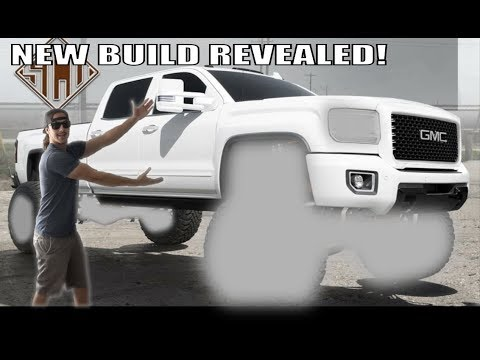 MY NEW TRUCK BUILD REVEAL!