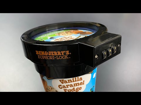 [801] My Wife vs. Ben & Jerry's Ice Cream Lock
