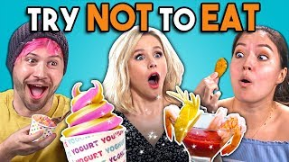 Try Not To Eat Challenge - The Good Place | People vs. Food