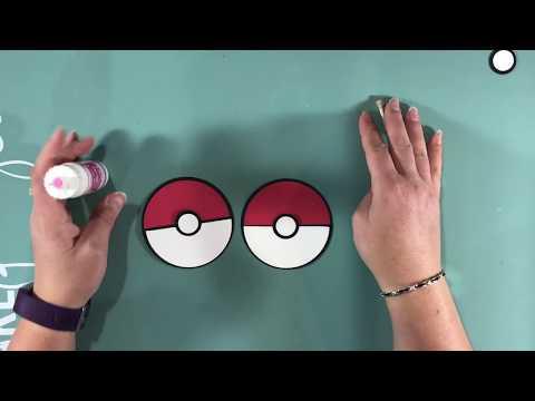 Pokemon Birthday Invitation Tutorial