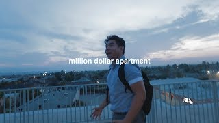 MY BEST FRIEND'S REACTION TO MY NEW APARTMENT!! (hilarious)