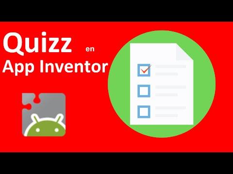 Quizz en App Inventor 2 Pt1