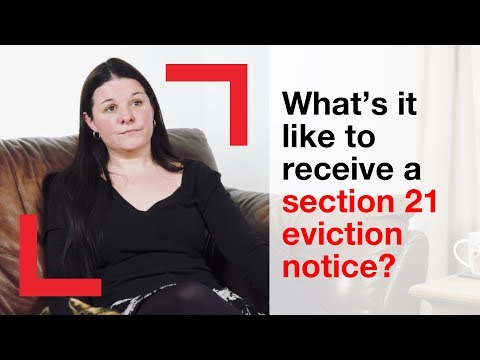 What it's like to receive a section 21 notice? | housing advice | Shelter