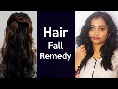 गिरते बालो को कैसे रोके   How to prevent hair fall in Hindi   Hair Fall Remedy / Natural Tips