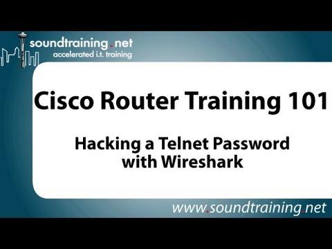Hacking a Cisco Telnet Password with Wireshark