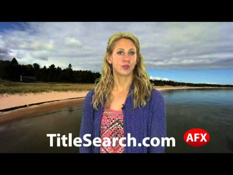 Property title records in Houghton County Michigan   AFX