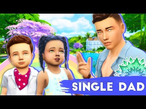 WHAT'S HE GOING TO DO...?😢 // THE SIMS 4 | SINGLE DAD LIFE #5