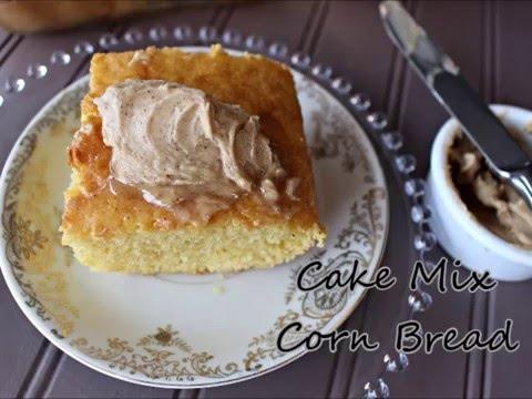 Sweet Cake Mix Corn Bread