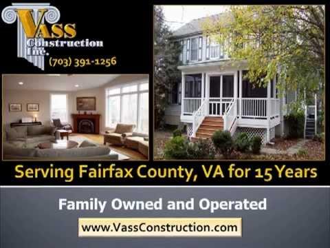 General Contractors in Fairfax, VA | Vass Construction-703-391-1256