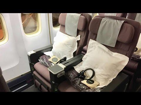 [Quick review] Qantas B747 PREMIUM ECONOMY | QF128 HKG-SYD