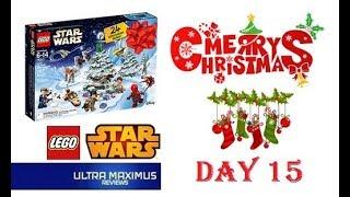 Day 15 Star Wars LEGO Advent Calendar (2018)