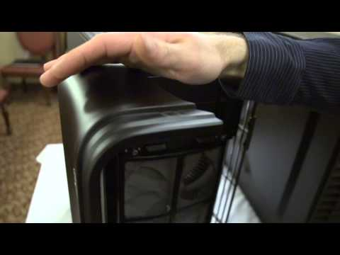 Silverstone Cases Showcase with DUSTPROOF Computer Case Linus Tech Tips CES 2013