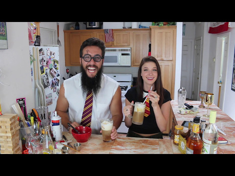 How to make Butter Beer w/Harry Potter and Hermoine