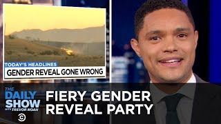 A Fiery Gender Reveal Party, Ohio's Bitcoin Gambit & Racist Charity Volunteers   The Daily Show