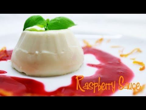 Raspberry Sauce for Panna Cotta