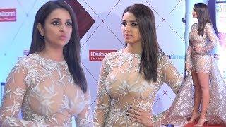 Parineeti Chopra Hot In See Through Dress At HT India's Most Stylish Awards 2018