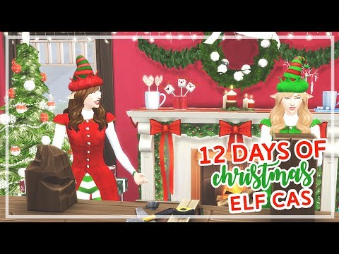 12 Days of Christmas in The Sims 4 🎄🎄 | Santa's Elf (Day #4)