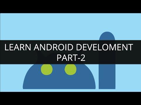 Learn Android Development Online - Part 2 | Edureka