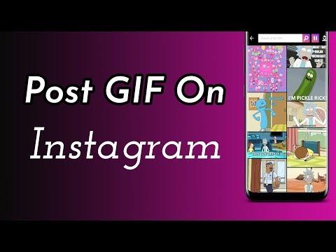 Post GIF On Instagram