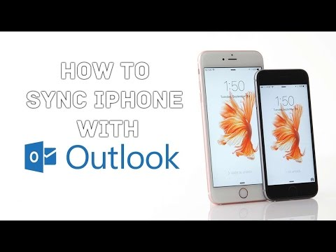 How to Sync iPhone 7, iPhone 8 and iPhone X with Outlook contacts, calendars and tasks