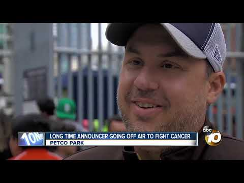 Padres announcer going off air to fight cancer