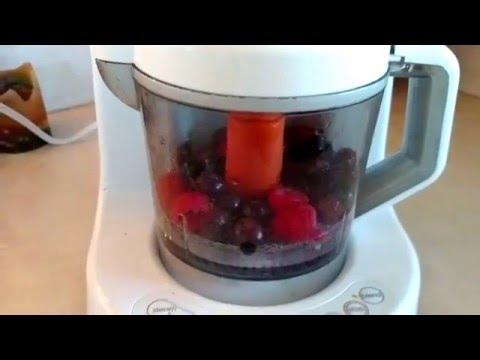 Making Baby Food: Mixed Fruits!