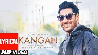 Kangan Lyrical Video Song   Harbhajan Mann   Jatinder Shah   Latest Song 2018   T-Series