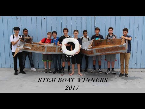 STEM 2017 Cardboard Boat Races
