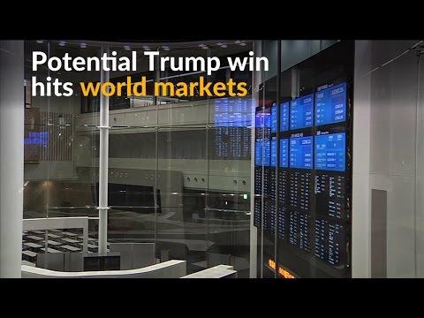 World markets in turmoil ahead of Trump win