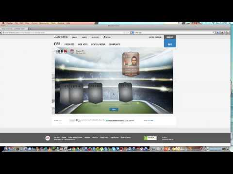 FIFA 14 WEB APP - Daily Gifts - EP1