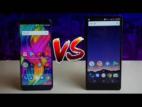 NUU G3 VS Vernee Mix 2 | Who Will Win?
