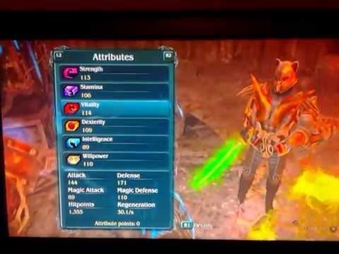 Sacred 2 Fallen Angel: Tank Build LVL 25 update