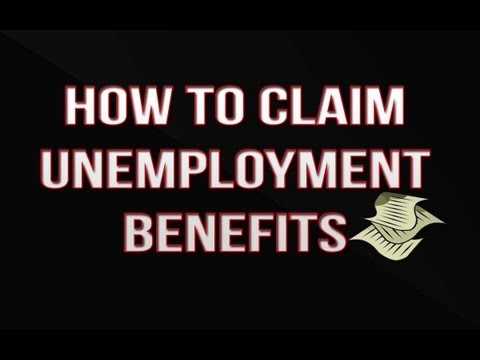 How to Claim Unemployment Benefits