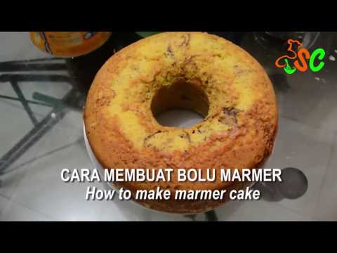 Resep Bolu Marmer | How to Make Marmer Cake