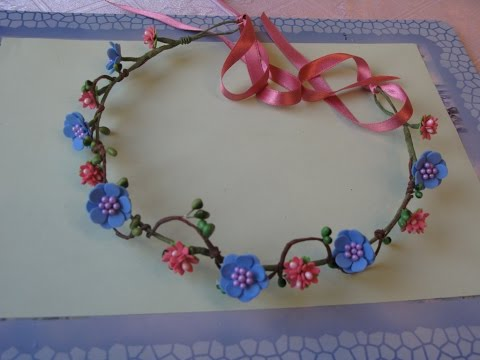 DIY Flower Crown. Rustic wreath. How to make a wreath of flowers for hair.