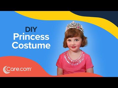 How to Make a Princess Costume - Easy DIY Halloween | Care.com